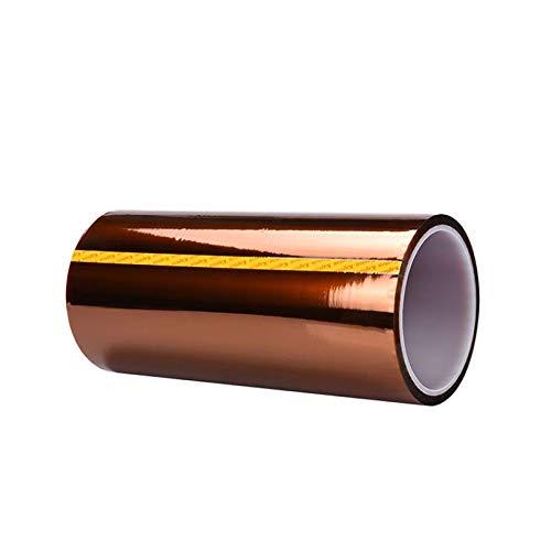 Hitzebeständiges Tape, Polyimid Film Klebeband, Starke Haftung, 300mmx33m, für 3D Drucker