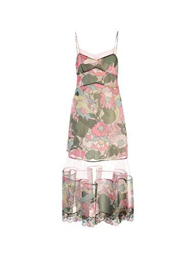 Luxury Fashion | Fendi Dames FDA786A5Z2F1AKU Groen Polyester Jurken | Lente-zomer 20