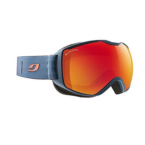 Julbo Quantum Skibrille, Dark Blue/Orange, XL