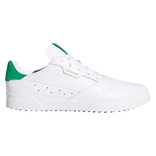 adidas Adicross 2020 - Zapatos de golf de piel para hombre, color Blanco, talla 43 1/3 EU