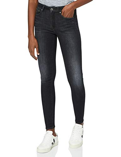 G-STAR RAW Damen Jeans 3301 High Waist Skinny, Worn In Coal A634-B179, 33W / 32L
