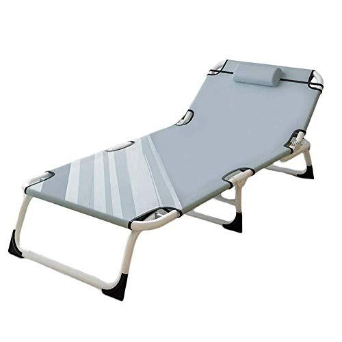 H-BEI Klappbett im Freien Campingbett , Klappbett Einzelbett, tragbares Klappbett Multifunktionales Klappbett...