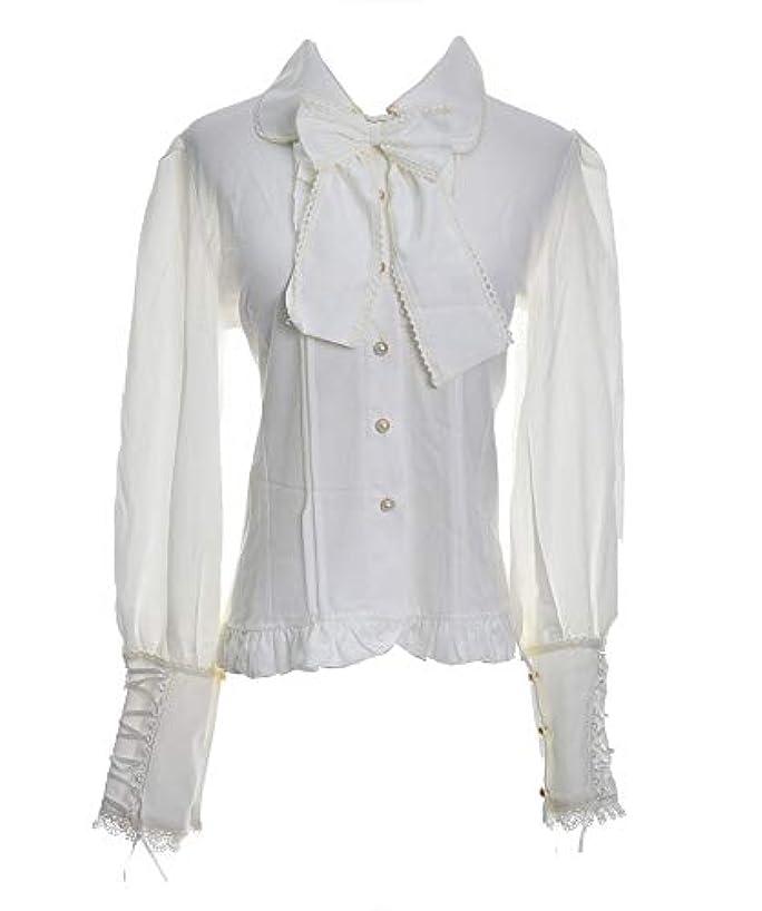 Nite closet Victorian Shirt Women Black/White Gothic Lolita Tops