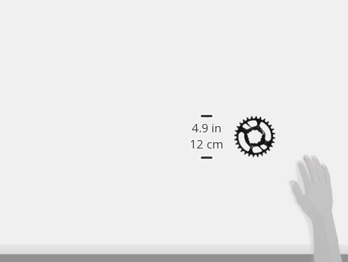 Sram MTB Direct Mount Stahl 11-Fach X-Sync 6 mm Offset Kettenblätter schwarz, 28T - 2