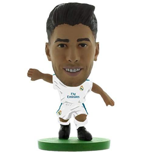 SoccerStarz SOC1200 Real Madrid Marco Asensio Home Kit 2018 Versión Figura
