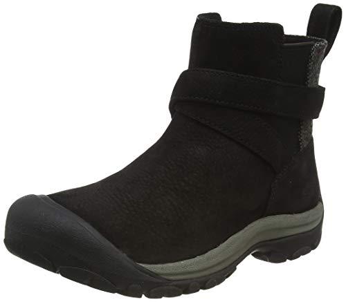 KEEN Women s Kaci 2 Winter Pull On Chelsea Boot, Black Steel Grey, 7