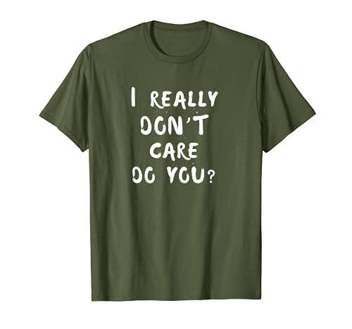 Realmente no me importa ¿Tú? Melania Trump Cita Camiseta