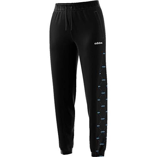 adidas W Core FAV TP Pantalón, Mujer, Negro/azubri, XS