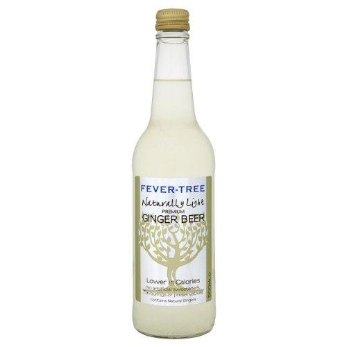 Fever-Tree Naturally Light Ginger Beer 4x500ml