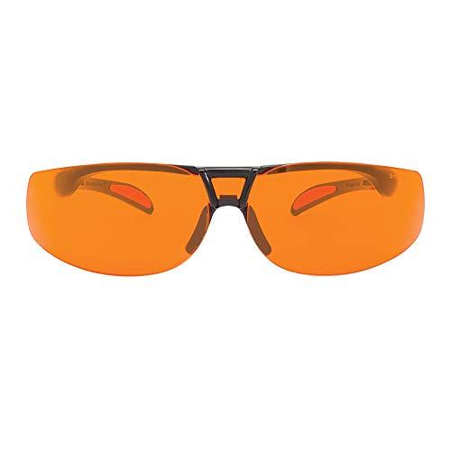 Uvex Protégé - Gafas de ordenador con bloqueo de luz, color azul