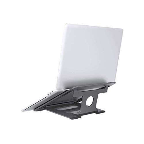 AWCPP Laptop Stands, Notebook Stand, Laptop Support, Folding Aluminum Alloy Desktop Base, Lifting and Hanging Cooling Base,B