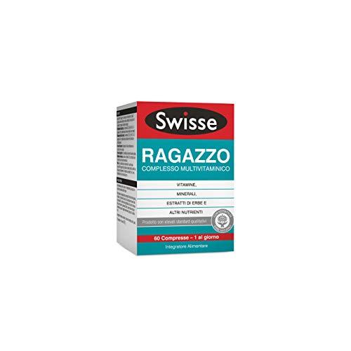Swisse Multivitaminico Ragazzo, Integratore Alimentare Multi-nutriente per Integrare la Nutrizione dei Ragazzi, 60 Compresse