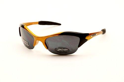 Xloop Kd55 Bambini Bambino Ragazzi delle Ragazze (3-7Yr) Porta Gli Occhiali da Sole Ciclismo Baseball (, Gradient) 1.968504 Pendenza S Arancione Chiaro