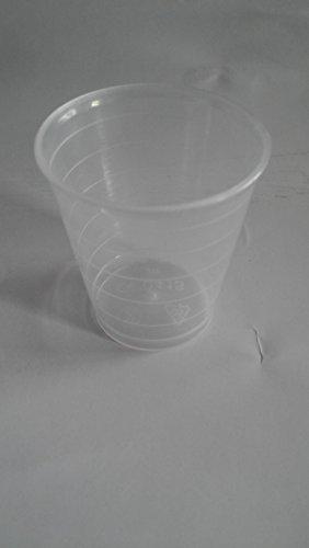 80 x 30ml geneeskunde pot maatbekers gallipots ambachtelijke lijm verf potten