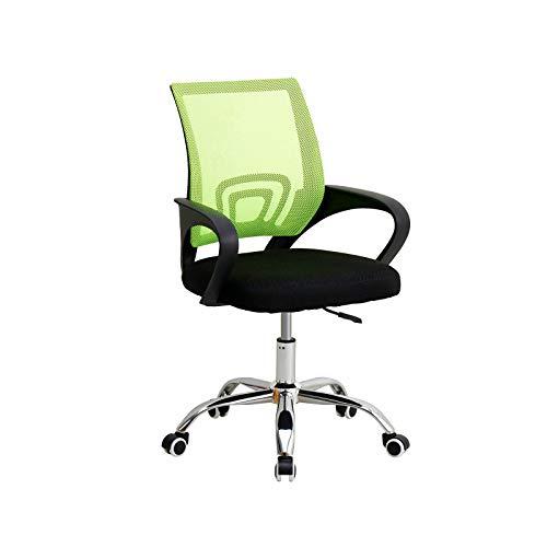 Trintion Bürostuhl Ergonomischer Schreibtischstuhl Drehstuhl Verstellbarer Computerstuhl mit Armlehne (Grün)