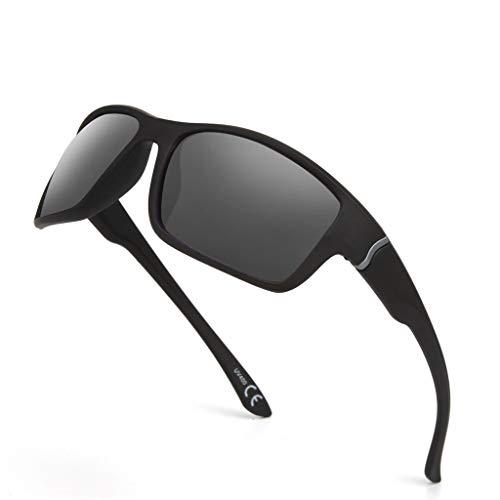 Zolimx- Occhiali da Sole Sportivi Occhiali Ciclismo Uomo Et Donna Occhiali da Sole Aviatore Ovali Non Polarizzate Con Protezione Occhiali Occhiali da Vista Tendenza Steampunk Occhiali Unisex Vintage