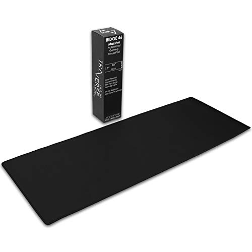 "Pro Gaming Mouse Pad (5mm) | Ridge Massive 46 inch | 46x17.3x0.20"" Extra Thick 