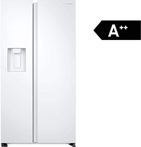Samsung RS8000 RS68N8231WW/EF Side-by-Side / 617 L/Weiß/Space Max/Twin Cooling+ / Wasser- und Eisspender/No Frost+ / Platzsparender In-Door Icemaker/Flaschenregal
