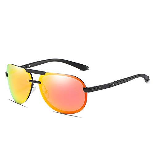 Gafas de sol polarizadas para Hombre Medio marco de aluminio y magnesio...