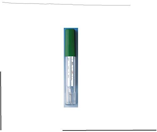 Fieberthermometer 624111 Glas Medi-Temp in einer Kunststoff-Hülle