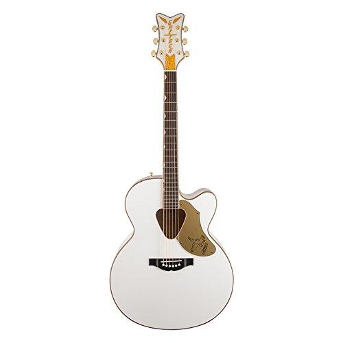 Gretsch Guitars G5022C Rancher Falcon Cutaway Acoustic-Electric Guitar White