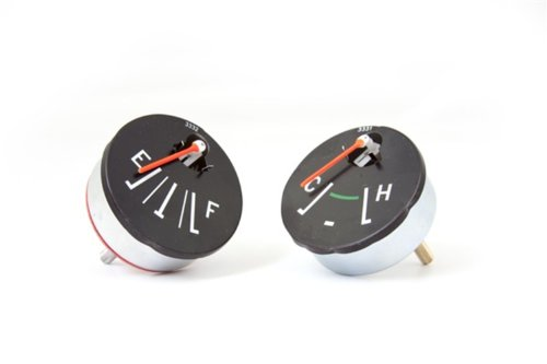 Omix-ada These replacement fuel and temperature gauges from Omix-ADA fit 55-86 Jeep CJ models. 17209.01