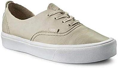 Amazon.com | Vans Authentic Decon LITE (Leather) Birch Size Men ...