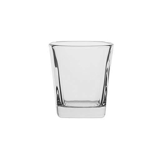 AmazonCommercial - Bicchieri Lowball in vetro, 278 ml, set da 6