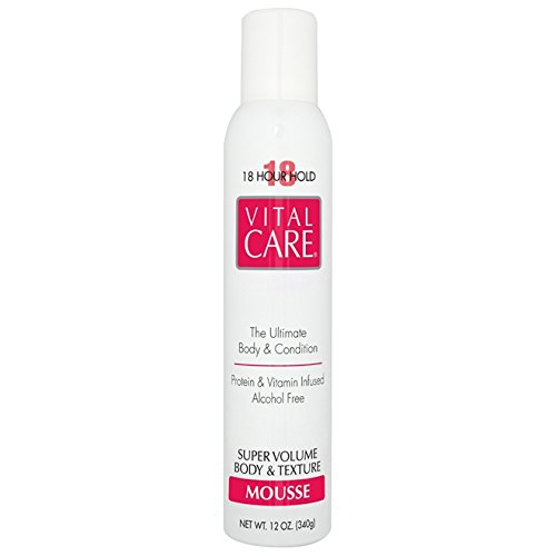 Vital Care 18 Hour Hold Super Japan's largest assortment Volume Year-end gift 12oz Mousse