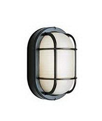 Epiphany Lighting EB836-13 BK Energy Efficient Fluorescent Indoor/Outdoor Wall Sconce in Black Finish