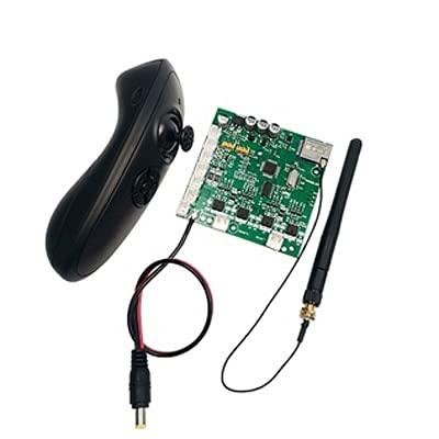 YNSHOU [para estrenar] 1 Unidades 2,4G GPS RC Barco de Cebo Radio Control de Sistema de piloto automático Control Remoto Transmisor Receptor Tablero Control de Crucero 500M -Aquier Pieza de Repuesto