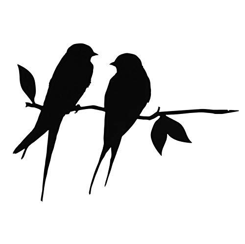Colibri Hirondelle - Figura decorativa de pájaro, diseño de silueta, decoración de...