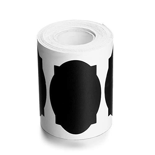 jumpeasy 150stks/roll Keuken Jam Jar Spice Krijtbord Marker Pen Fles Tags Labels Stickers Blackboard Label