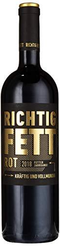 Cramele Recas RICHTIG FETT Rot Feteasca Neagra 2018 HalbTrocken (1 x 0.75 l)