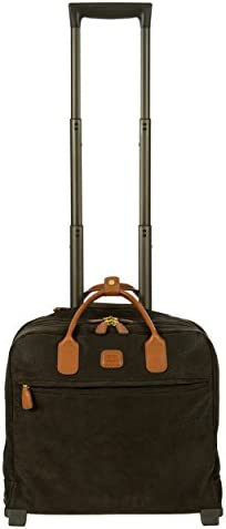 Bric s Life Tropea Ultralight International Carry on Laptop Tablet Pilot Case Spinner Olive product image