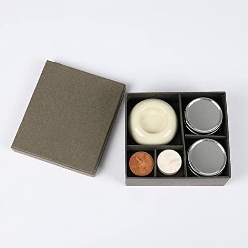 AngYou Conjunto de Velas de Aromaterapia Vela Sin Humo Vela Cena con Perfumado Vela para el Hotel SPA Fragrance Set