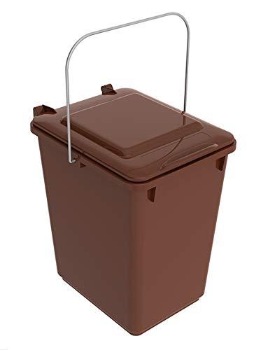 SULO Mülleimer Vorsortierbehälter Bio Boy, Inhalt 10 l - Braun