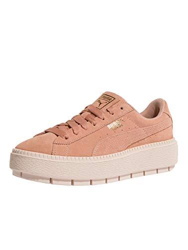 PUMA Platform Trace WNS 365830-05 Chaussures Basses Femme Rose - - Rose Bonbon, 38 EU