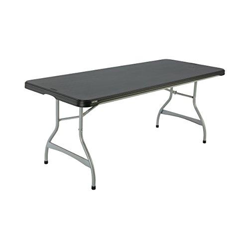 Lifetime 480350 Commercial Rectangular Folding (4 Pack) Table, 6