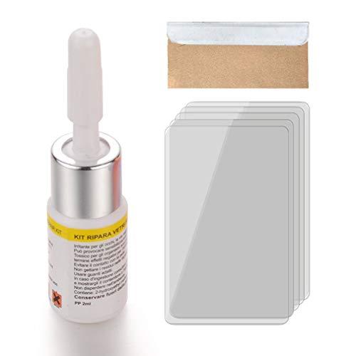 Windschutzscheiben-Reparatursatz Autofensterreparatur Polieren Windschutzscheibe Glas Renwal Weiß