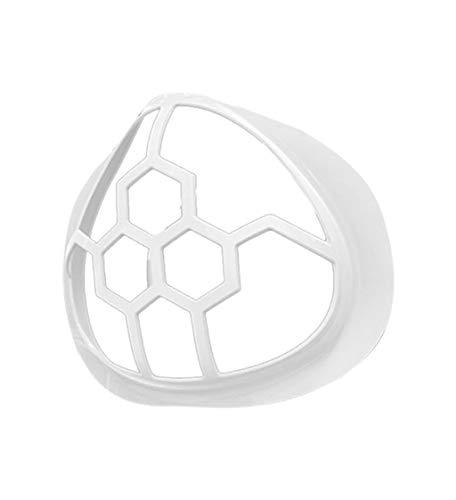 5 Stück 3D-Halterung für Mundschutz,innerer Stützrahmen, hält Stoff vom Mund fern, um mehr Atmungsraum zu Schaffen, Wiederverwendbar, Waschbar