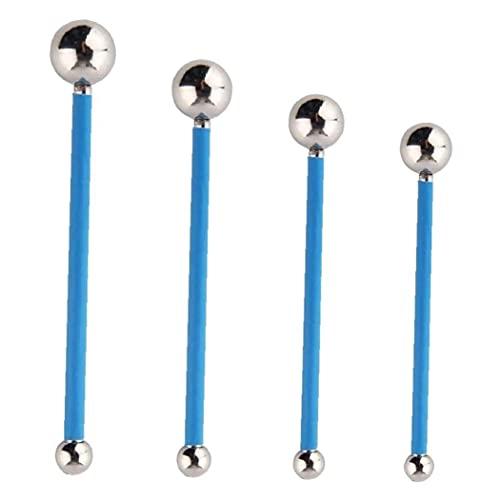 Zestaw narzędzi Caulking zestaw naprawczy do płytek podłoga fug zestaw naprawczy betonu blat narzędzie do uszczelniania płytek niebieskie 4 szt., płytki piękno narzędzia do szycia