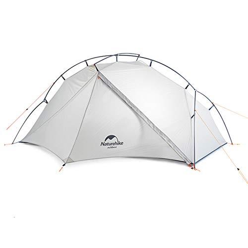 Tentock Imperméable Ultra-Léger Tente de Camping Tente Portable Silicone 4 Saisons pour Backpacking Extérieur(Standard Style)