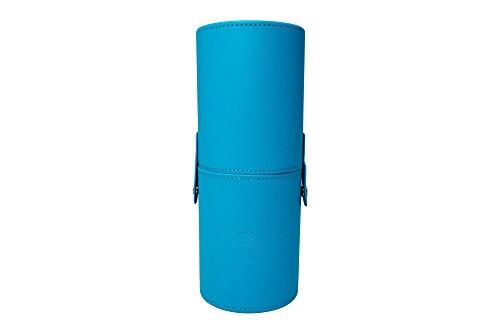Moonriver Beauty Premium Makeup Brush Case, 9 Inch (Blue) by Moonriver Beauty