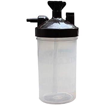 SovelyBoFan Water Bottiglia Umidificatore per Concentratore di Ossigeno Umidificatore Concentratore di Ossigeno Bottiglia Umidificatore Bottiglie Accessori per Generatore di Ossigeno Un Coppa