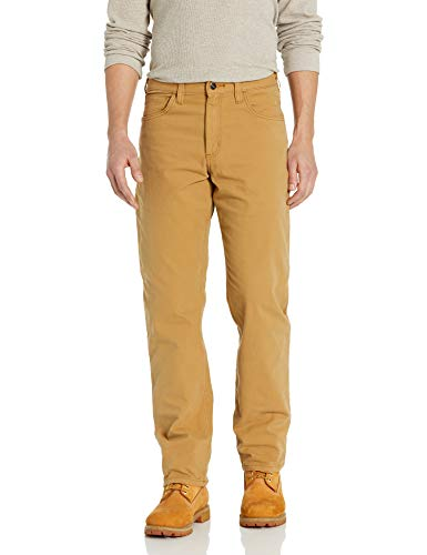 Carhartt Men's Rugged Flex Rigby Five Pocket Pant, Hickory, 36W X 32L