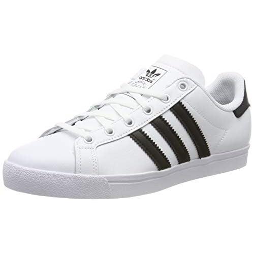 adidas Coast Star J, Scarpe da Ginnastica Donna, Bianco (Ftwr White/Core Black/Ftwr White Ftwr White/Core Black/Ftwr White), 38 2/3 EU