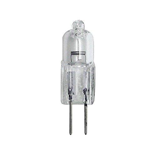 Heitronic–Bombilla halógena bipin (GY6,35, Blanco cálido, 35W, 400lúmenes, eficiencia energética: D