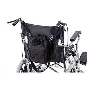Universal Rollator Tasche Reisetasche Caddy auf Rollstuhl, Rollstuhl, Transportstühle, zusammenklappbarer Gehhilfe, bariatrische Gehhilfen GJB343