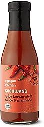 Amazon Kitchen, Gochujang Spicy Korean-Style Sauce & Marinade, Vegan, Refrigerated, 11 fl oz